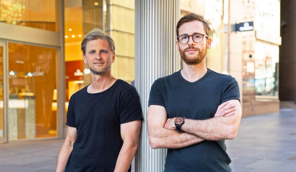 Deferit co-founders Mat Blas and Jonty Hirsowitz